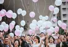 David & Nerissa Wedding by Gema Wedding Organizer