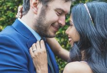Engagement of Andrew & Nilu by WG Photography