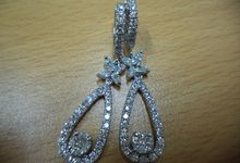 Diamond earing by Ivana Jewellery