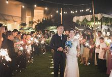 RIRIS & ARIF by Raffles Hills Cibubur - On Green Garden Venue