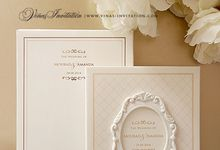 Mourad and Amanda by Vinas Invitation