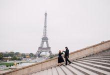 Guillaume & Esmeralda Paris Pre-Wedding by Venema Pictures