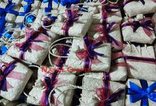 Mini Buri Palm leaf Gift Bags by Miss Marian Native Crafts