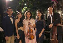 Jazz Band for The Wedding of Adi & Sasha at Plataran Dharmawangsa by La Oficio Entertainment