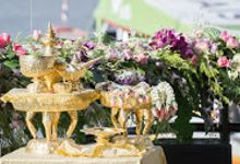 River Cruise Wedding with Monk Blessing by Dream Asia Weddings