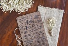 Wedding Invitation - Forever Rustic by Kanoo Paper & Gift