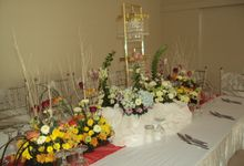 Wedding by Event Styling by Fleur Architect