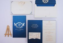 Royal Blue Philipus & Francisca by Bubble Cards