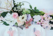 Garden Style Wedding by Dearest Jolie Weddings