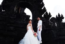 Prewedding picture by Tiga Langkah Photography