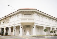 An Urban Bridal Styled Shoot in Joo Chiat Singapore by Peach Frost Studio