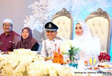 Wedding Reception at Ballroom Roof Garden Hotel by Wedding Studio Sdn Bhd