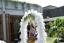 Holy Matrimony Michael and Aline at Tjendana Bistro by DeRose Decoration