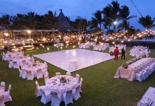 Wedding Dinner of Nilton & Cynthia by The Royal Santrian Luxury Beach Villa