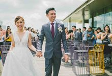 Simple Wedding of Shirley & Rondy by Issyshoots