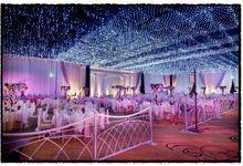Beautiful Wedding Light of Nicole & Shaun by Etcetera Lighting
