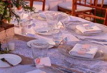 Wedding & Dinner of  Josua and Venysia by The Royal Santrian Luxury Beach Villa