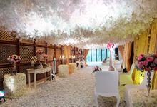 Andreas & Daina Wedding - Mandarin oriental by The Swan Decoration