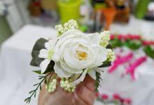 Monica & Dodo Wedding by Hana Flower Story