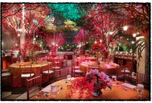 Beautiful Wedding Light of Adi & Resida by Etcetera Lighting