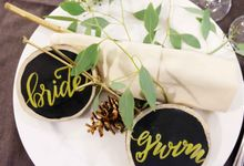 Rustic Wood Garden Wedding by Good Mood Party Stylist