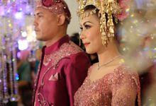 Dewi Basri & Arif Budiman Wedding by Mel Ahyar Bride