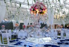 Wedding Dinner Edward & Noviana by The Royal Santrian Luxury Beach Villa