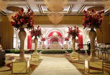 The Wedding of Raynald & Lieke - The Westin Jakarta by The Swan Decoration