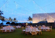 Wedding Dinner of Ying Zu & Ming Yan by The Royal Santrian Luxury Beach Villa