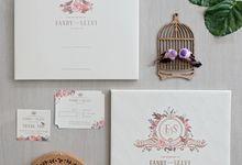 Fandy & Selvi Wedding Invitation by La Voilla Invitation