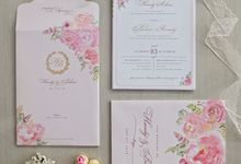Handy & Belina Invitation by La Voilla Invitation