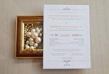 Denny & Devina Wedding Invitation by La Voilla Invitation