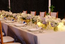 Wedding & Dinner of Cassie and Garry by The Royal Santrian Luxury Beach Villa