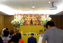 The Wedding of David and Dewi - Ayana Midplaza Jakarta by The Swan Decoration