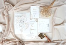 ASCT BABY BREATH INVITATION by Mille Paperie