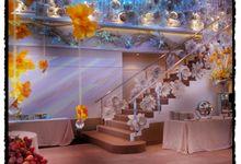 Beautiful Wedding Light of Leonel & Grace by Etcetera Lighting
