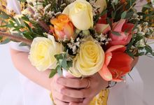 Natural Rustic Bouquet by Il Fiore
