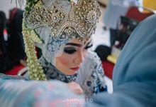 wedding from ka dwi & ka nasar by JaMphotostudio
