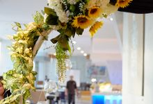 Alfian & Aurel Reception Decor by La Bloom Florist