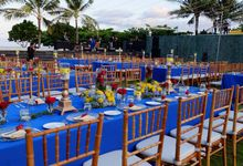 Wedding & Dinner of Michael and Yulia by The Royal Santrian Luxury Beach Villa