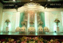 Wedding Reception of Dhany Setia Purnama & Meutia Raftika Pane by Miss Planner