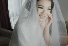 CLARINE & FILIPUS WEDDING by Adeline Makeup