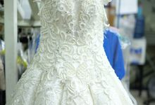 Wedding Dress Dry Cleaning by OXXO Care Cleaners - eco friendly dry cleaning