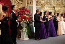 Sudirman - Evelyn Wedding Reception by DAVE HENDRIK