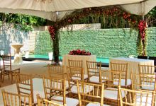Wedding at Rocharlie Drive by Outdoor Wedding Specialist