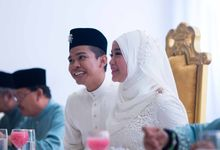 Qistina & Hadzwan Solemnization by Attirmidzy photography