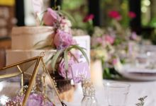 Rustic Anniversary by Voilawish Party Designer