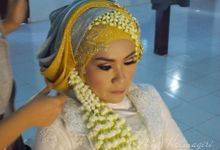 Wedding Reception Ngunduh Mantu by Alice Hatmagiri Makeup Artists