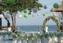 Wedding pic by Grand Ocean Villa
