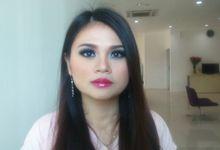 Nesya make over by mellyna make up artis